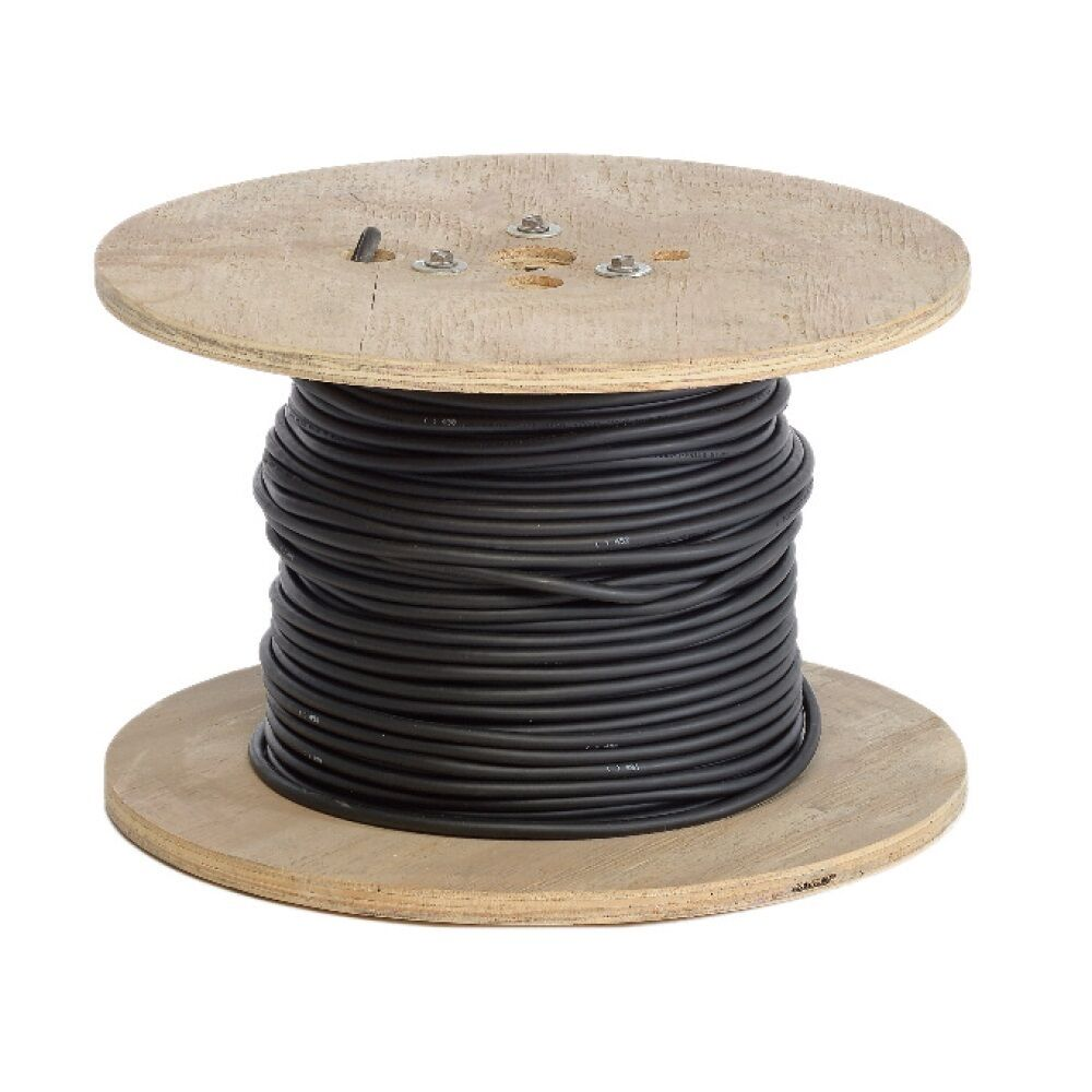 100 1 0 Black Flexaprene Welding Cable Boxed Made In Usa