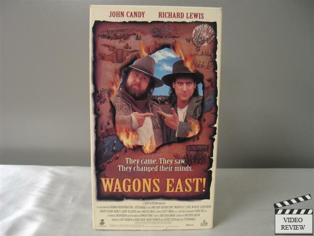 Wagons East! VHS John Candy, Richard Lewis, John McGinley ...