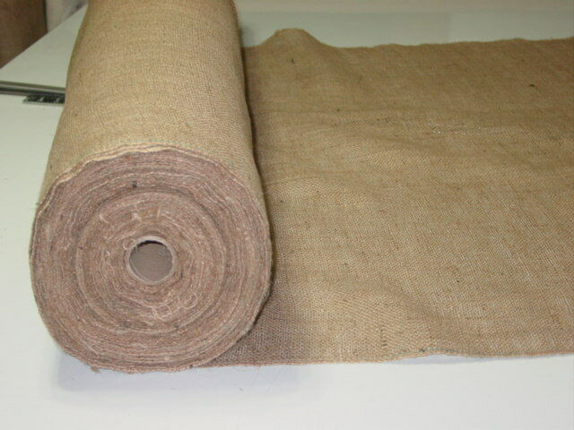 50 yds 40 inch 10 oz jute upholstery burlap roll for What is burlap material