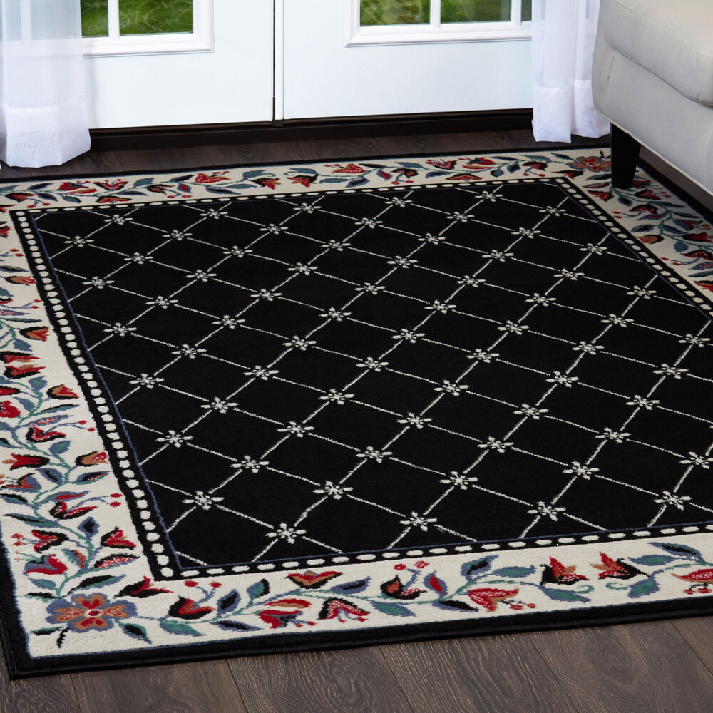 Rugs area rugs carpet flooring persian area rug oriental floor decor large rugs ebay - Rugs and home decor decor ...
