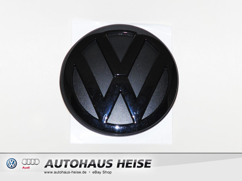 original vw heck emblem schwarz golf 4 iv lupo polo. Black Bedroom Furniture Sets. Home Design Ideas
