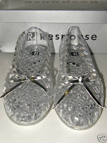 Jelly Stone Sandals Womens Shoes Clear Size 6 To 12 New Ebay