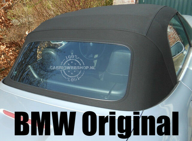 Bmw Z3 100 Original Plastic Rear Window With Zipper Z3