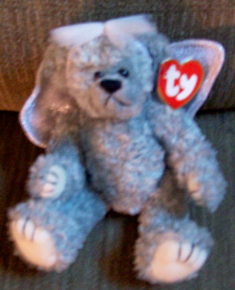Rare Retired 1993 Ty Quot Sterling Quot Beanie Baby Attic