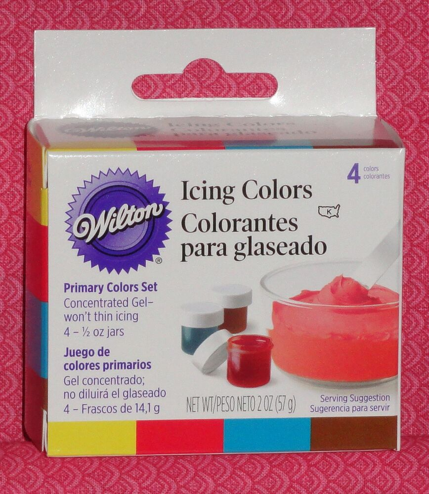 Spray Icing Colors Cake Decorating