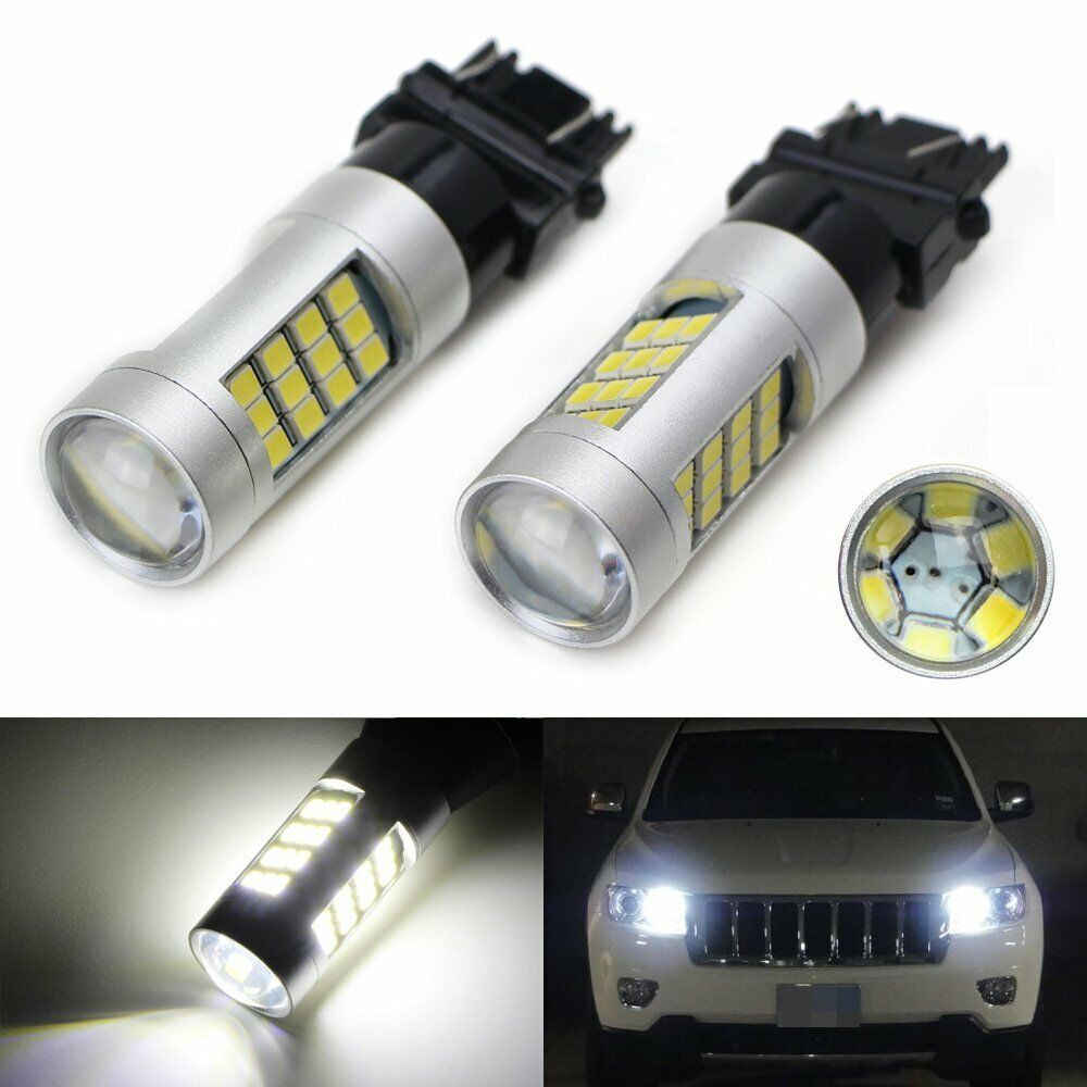 6k hid white 33 smd led for 2011 up jeep grand cherokee. Black Bedroom Furniture Sets. Home Design Ideas