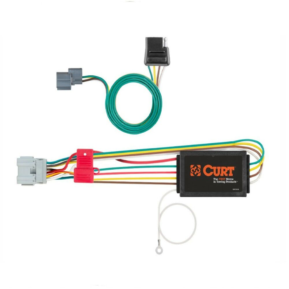 curt trailer hitch custom wiring harness connector 56029. Black Bedroom Furniture Sets. Home Design Ideas