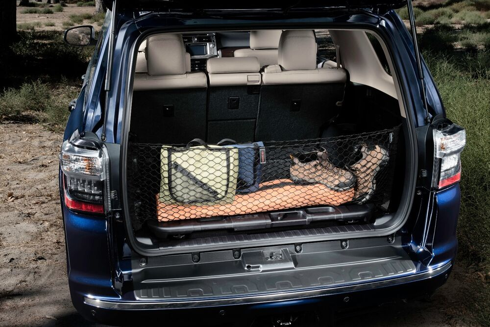 toyota 4runner 2010 2016 cargo trunk net with 3rd row oem new ebay. Black Bedroom Furniture Sets. Home Design Ideas