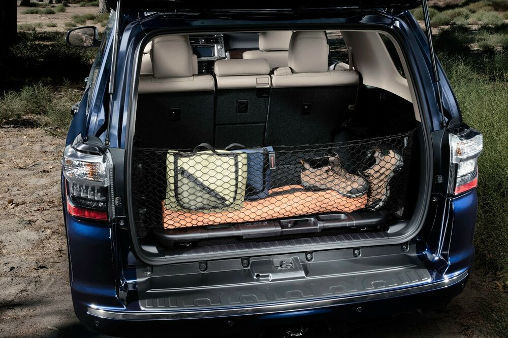 toyota 4runner 2010 2016 cargo trunk net with 3rd row. Black Bedroom Furniture Sets. Home Design Ideas