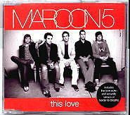 Maroon 5 - This Love - Deleted 4 Track Enhanced CD