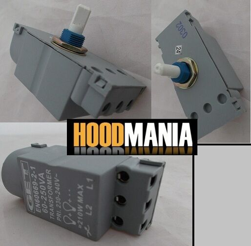 dimmer switch module 60 250w push on off rotary dim get chrome brass white grey ebay. Black Bedroom Furniture Sets. Home Design Ideas