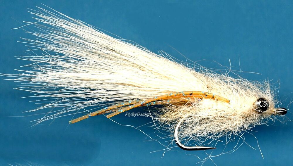 Tan mantis shrimp saltwater bonefish fly fishing flies for Saltwater fly fishing