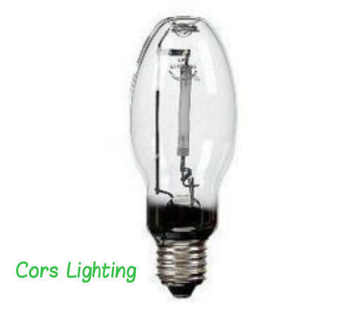 12 100 watt high pressure sodium light bulb ed17 medium hps ebay. Black Bedroom Furniture Sets. Home Design Ideas