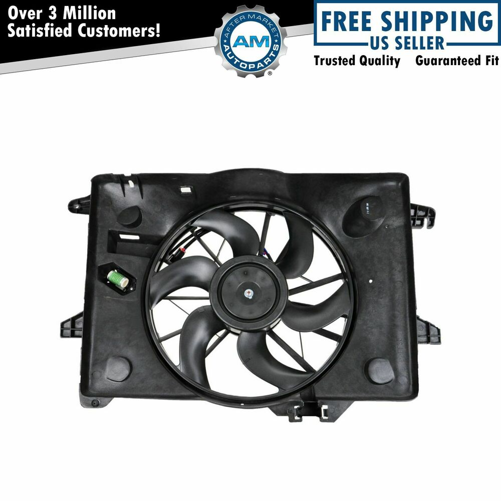 Radiator Cooling Fan For Grand Marquis Crown Vic Town Car