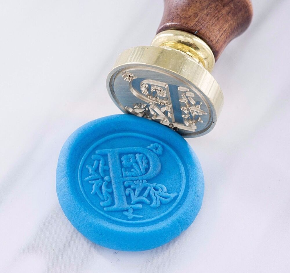 letter wax seal wax seal stamp wax and seal letter classic font ebay 23296