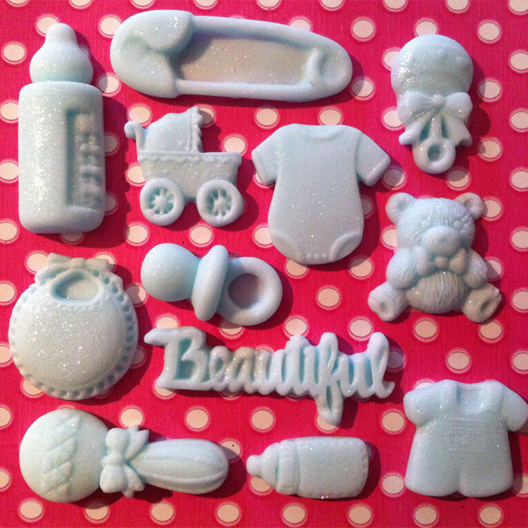 Edible Baby Shower Christening Ready Made Decorations