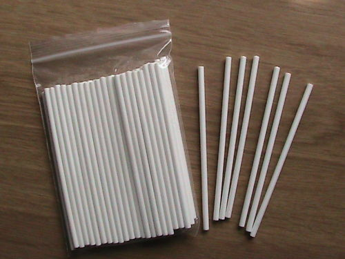 cake pop sticks 100 x 4 quot paper lolly pop sticks ideal for cake pops 2297