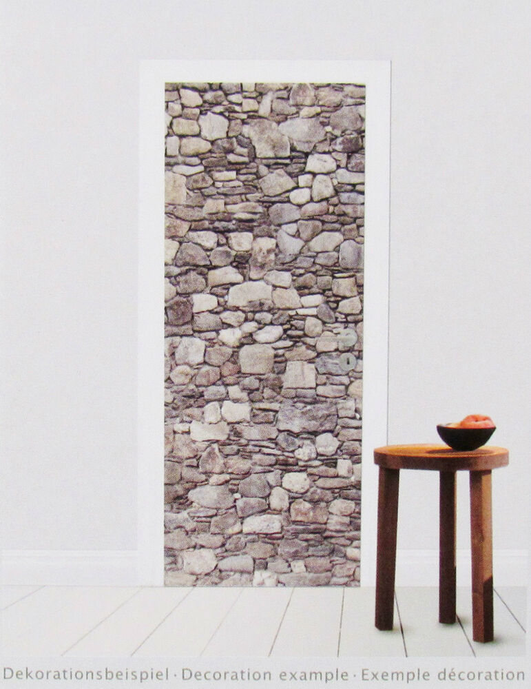 t r fototapete stones steine stein wand mauer t r tapete t r poster bild tapete ebay. Black Bedroom Furniture Sets. Home Design Ideas