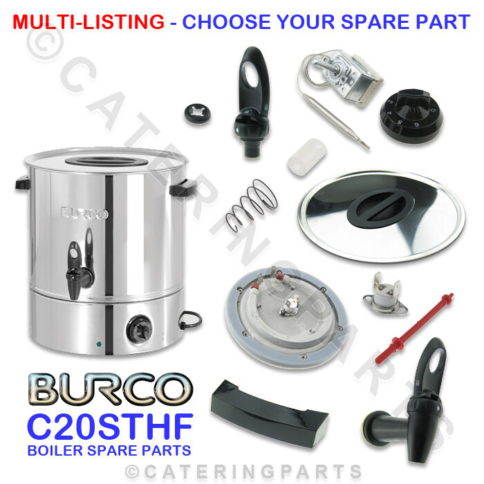 Water Boiler Parts ~ Burco c sthf spare parts spares for litre hot