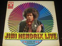 "Jimi Hendrix mega rare '69 German CLUB LP ""Live"" on HÖR ZU SHZE 293 EX+"