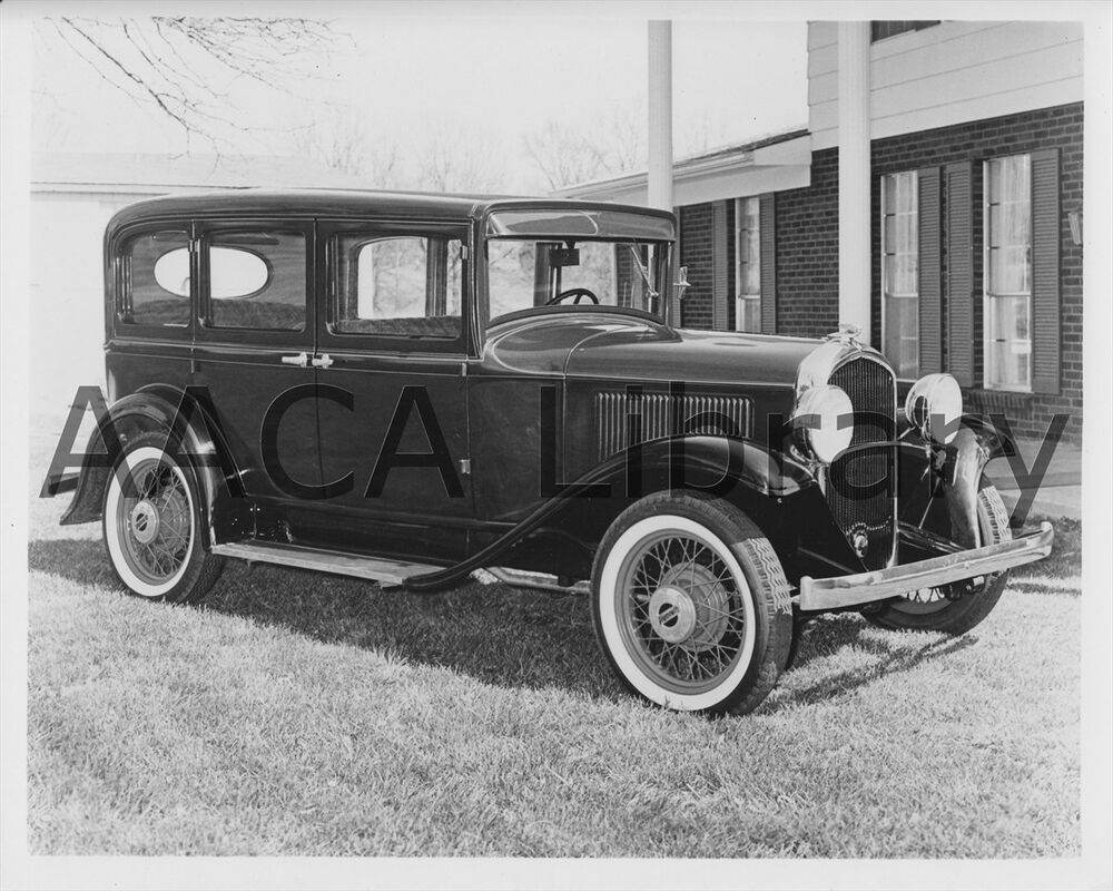 1931 plymouth pa four door sedan factory photo ref