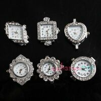 30pcs Wholesale Lots Mixed Charms Lady Watch Face Fit Jewelry Making 151050