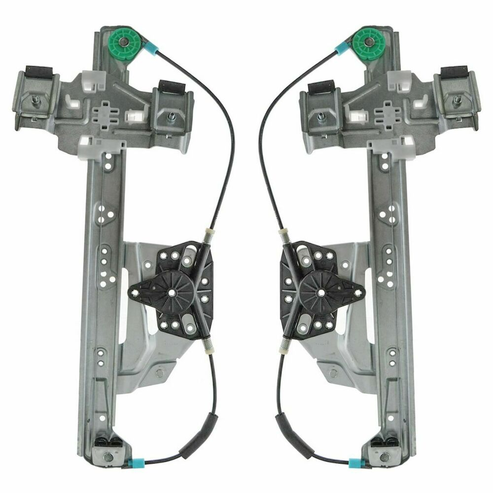 Rear power window regulators left right pair set for 00 for 04 cadillac deville window regulator