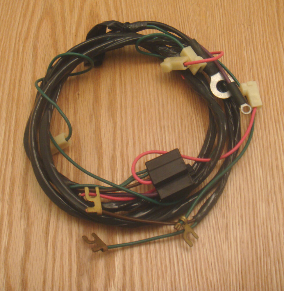 Chevy Truck Wiring Harness Ebay Real Diagram Painless 1956 Starter Wire 6 Cyl Std Shift 93 Engine