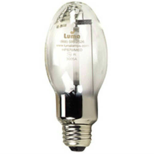 2 Lu150 Med 150 Watt Hps High Pressure Sodium Medium Base Light Bulb Ebay
