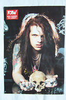 RICKY WARWICK (The Almighty) - 1990 Magazine Poster