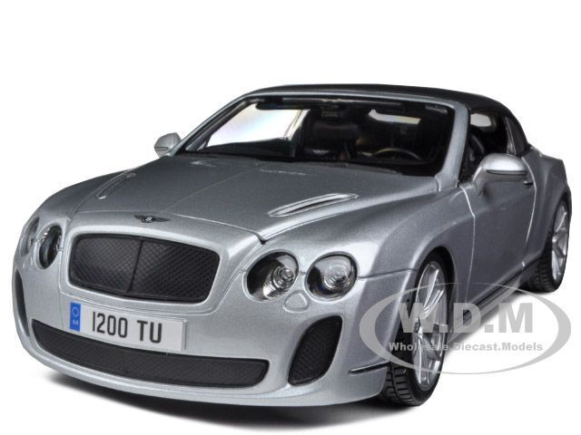 2012 2013 bentley continental supersports soft top silver 1 18 bburago. Cars Review. Best American Auto & Cars Review