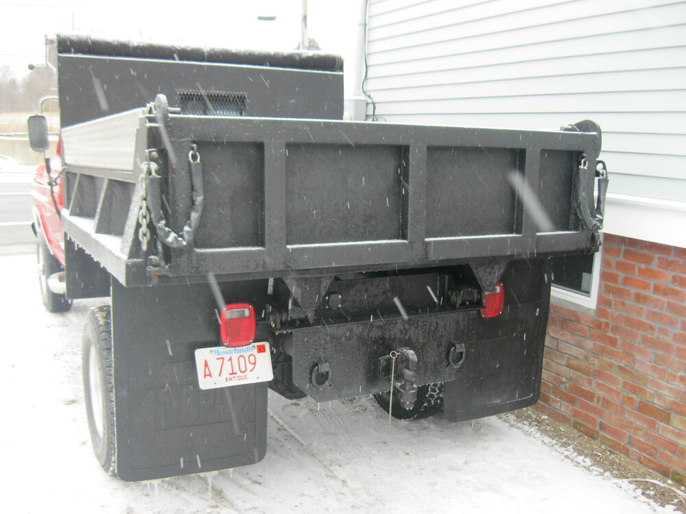 Used 1 ton dump beds for sale autos post - Dump truck twin bed ...