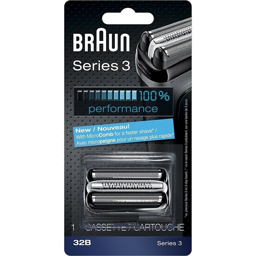 d8d1c42859c Braun 32B Series 3 Shaver Foil and Cutter Head Cassette