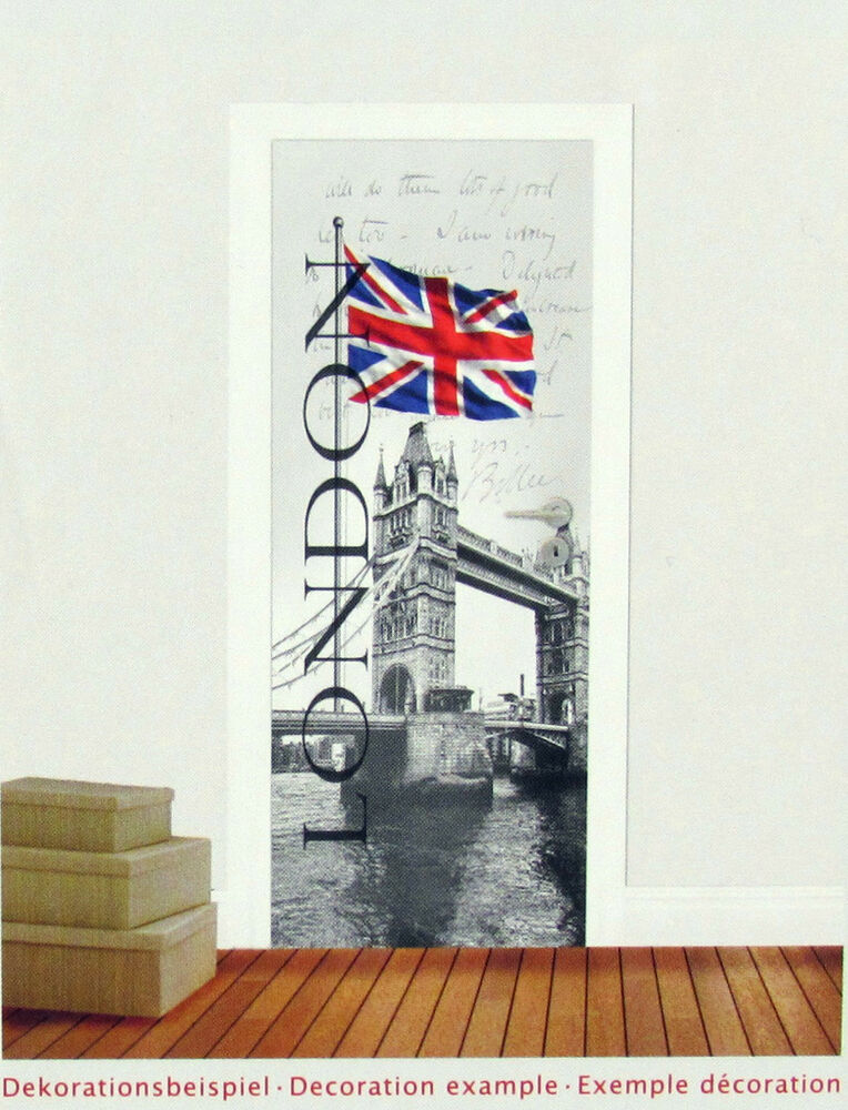 t r fototapete london tower bridge england t r tapete t r poster bild tapete ebay. Black Bedroom Furniture Sets. Home Design Ideas