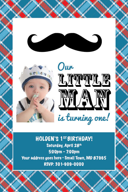 little man mustache printable 1st birthday party baby