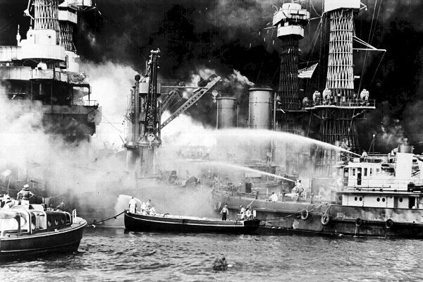 Bish Denham : A Day That Will Live in Infamy |World War 2 Bombing Of Pearl Harbor