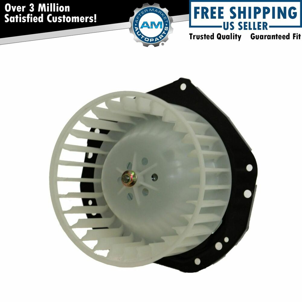 Blower Chevy 57: Heater Blower Motor W/ Cage For 85-05 GMC Safari Chevy
