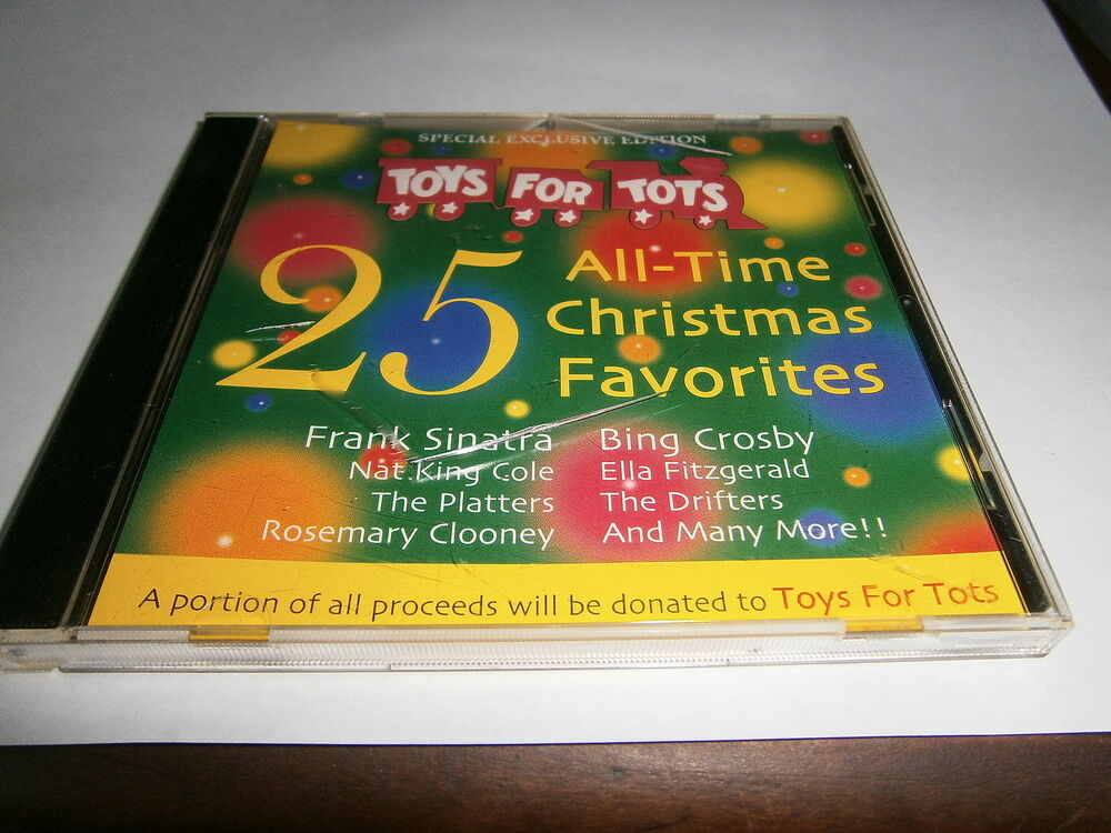 2 Toys For Tots : Toys for tots all time christmas favorites cd ebay