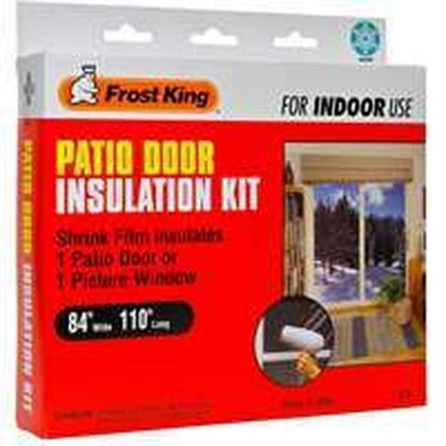 new king v76h patio door insulation kit 84x110x42