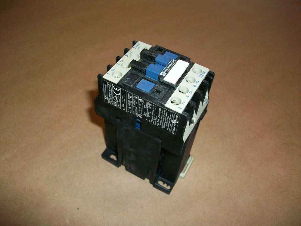 Telemecanique Motor Contactor 480hp 24vdc Coil Ebay