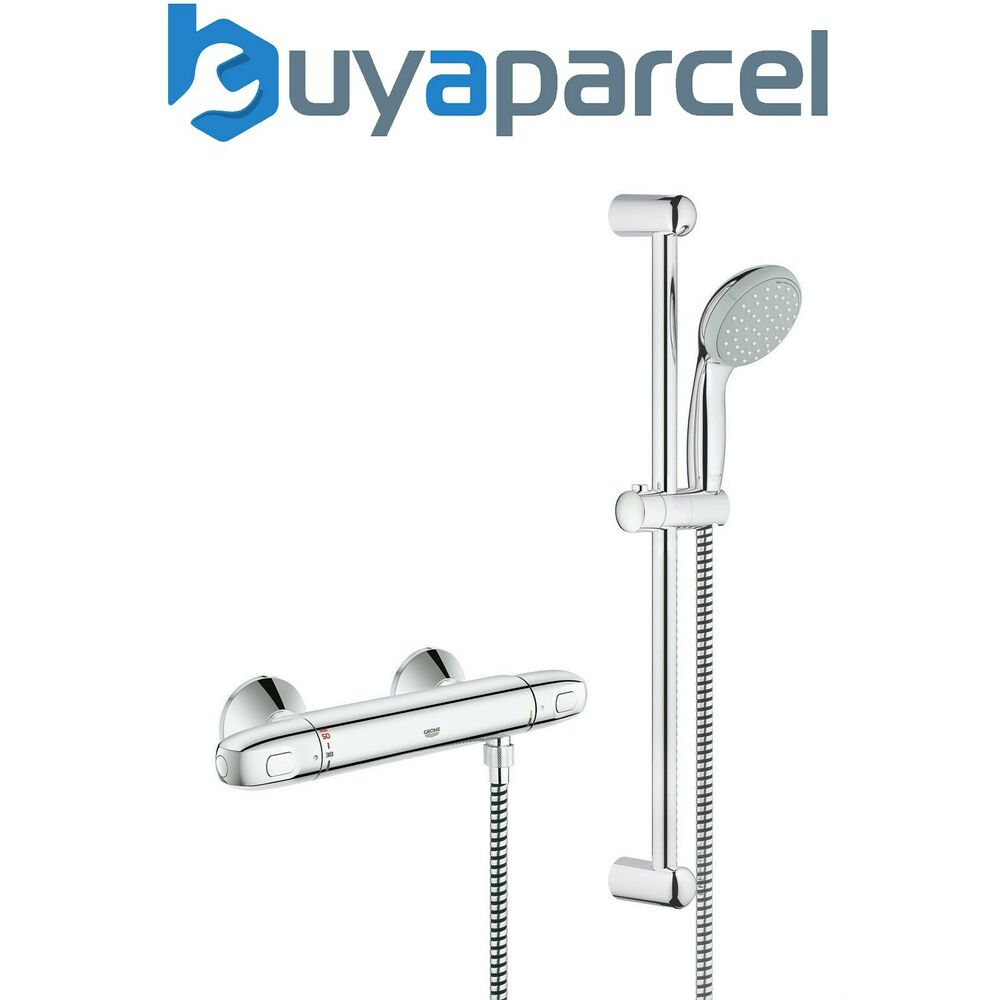 Grohe 1000 G1000 Thermostatic Bar Mixer Shower Tempesta