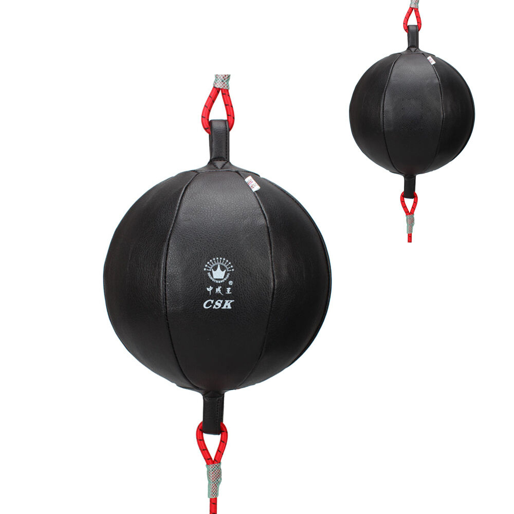 Exercise Mma Boxing Training Gear Adjustable Double End Punching Speed Ball Bag Ebay