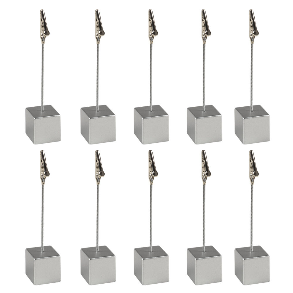 30 silver wedding place card holders favours for Place settings name card holders