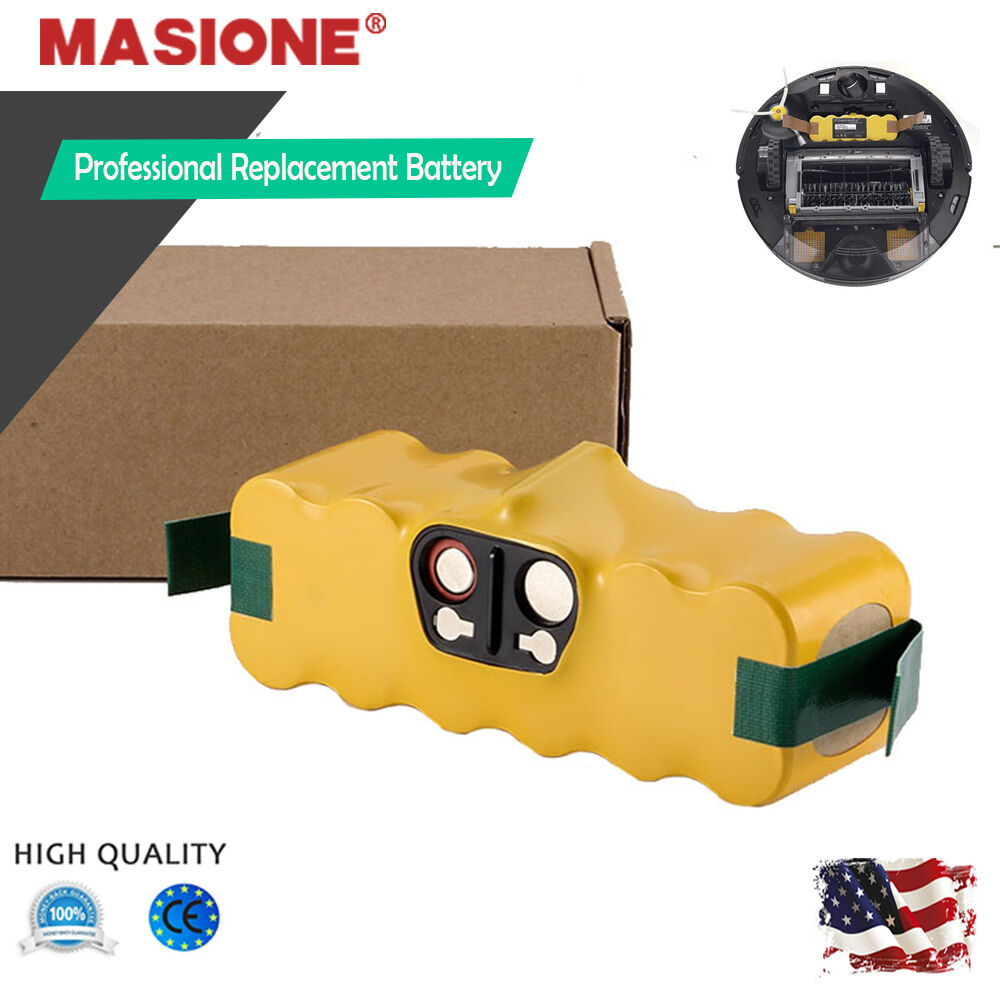 new 14 4v vacuum aps battery for irobot roomba 500 510 530 570 580 550 r3 610 ebay. Black Bedroom Furniture Sets. Home Design Ideas