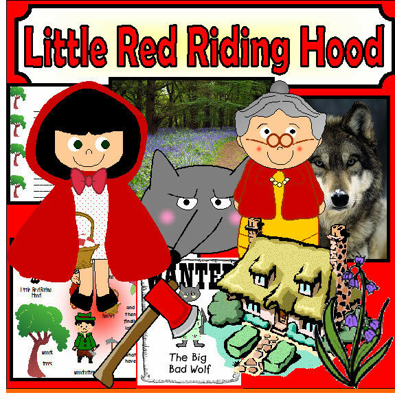 Little Red Riding Hood Story Teaching Resources Sack On Cd