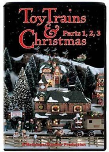 Toy Trains And Christmas : Toy trains christmas parts dvd new lionel american