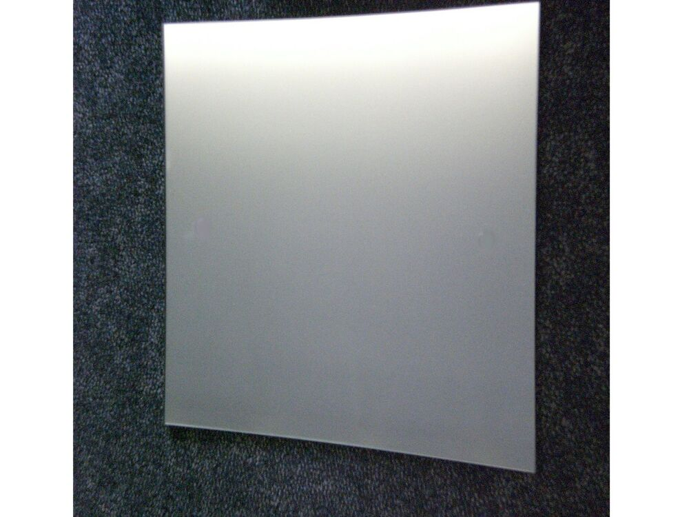 Polished Edge Safety Backed Wall Mirror 600mm X 600mm