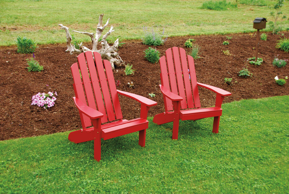 Outdoor Kennebunkport Adirondack Chair 8 Stain Colors