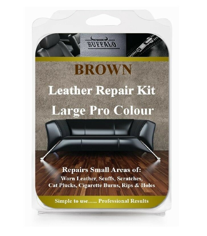 Leather Furniture Repair Kits Reviews: Large Pro Leather And Vinyl Furniture Repair Kit