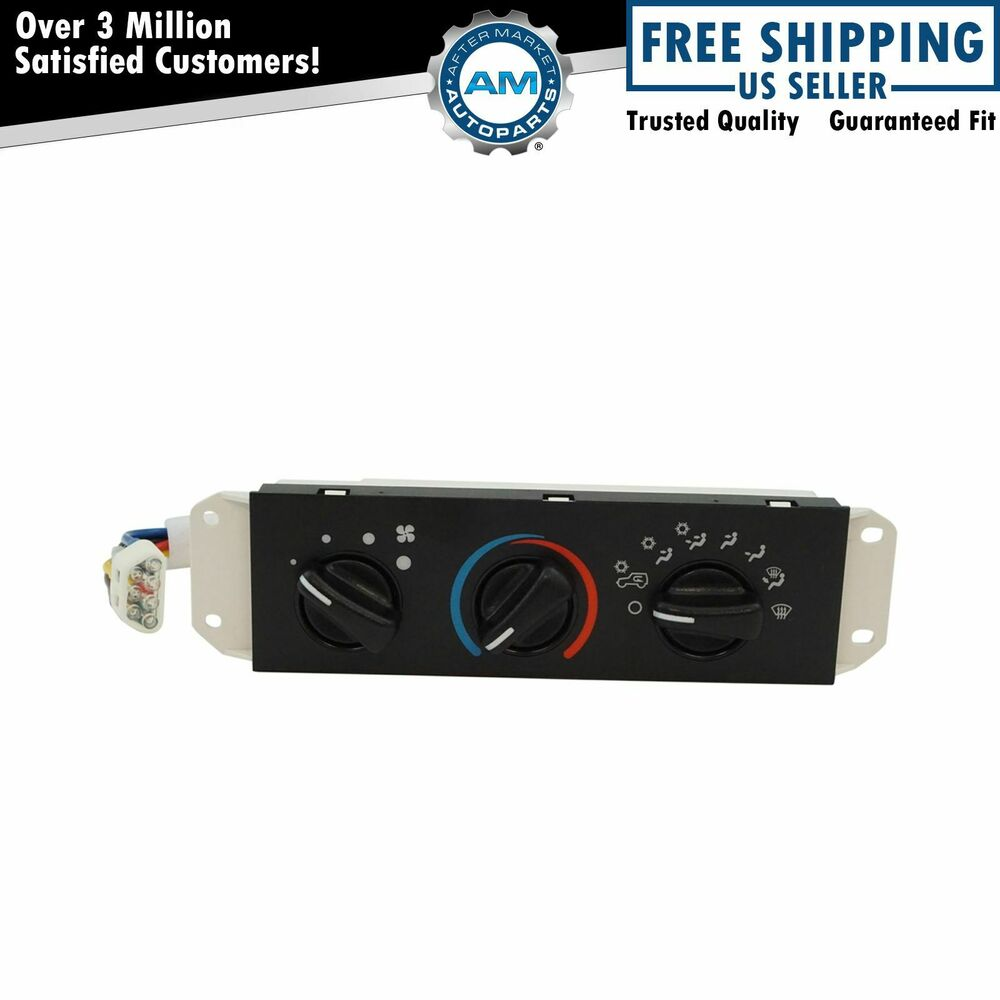 Hvac Ac A C Heater Control With Blower Motor Switch For